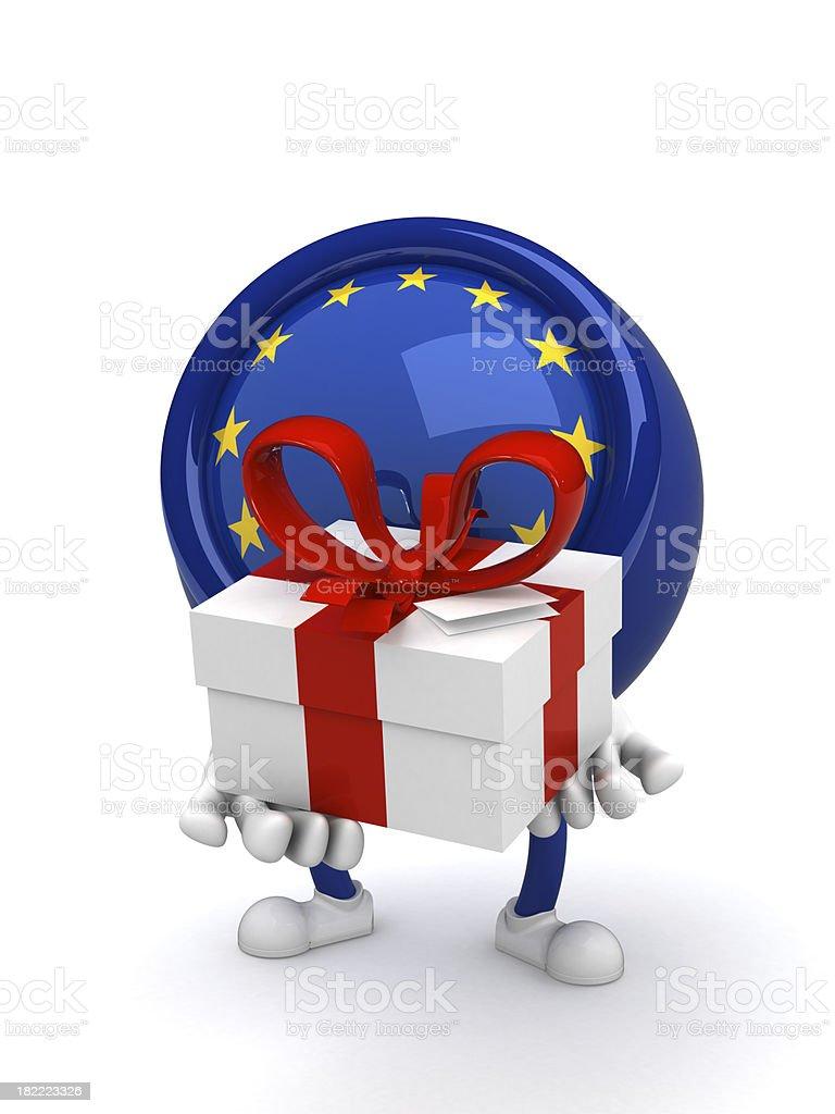 Euroguy stock photo