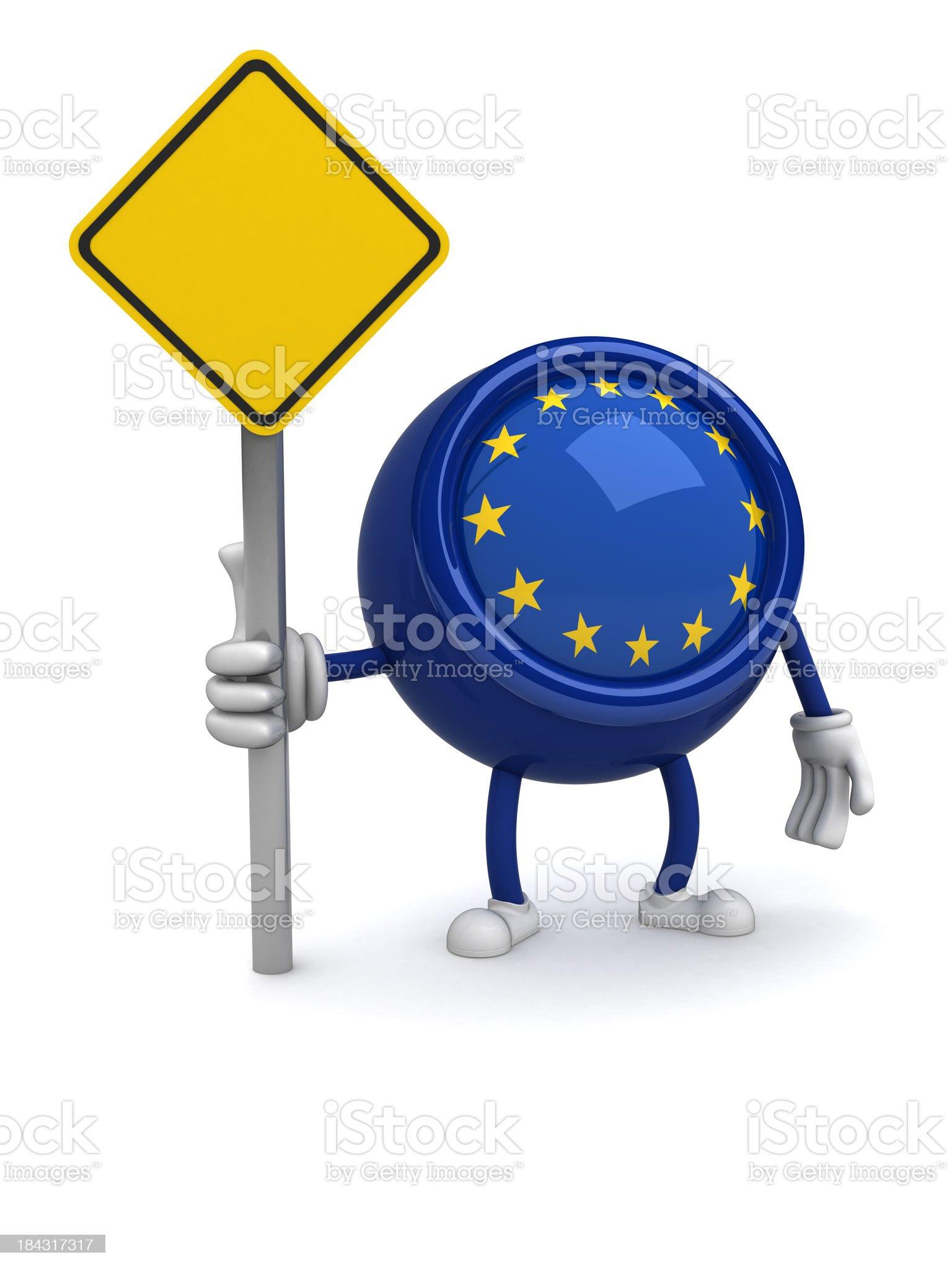 Euroguy royalty-free stock photo