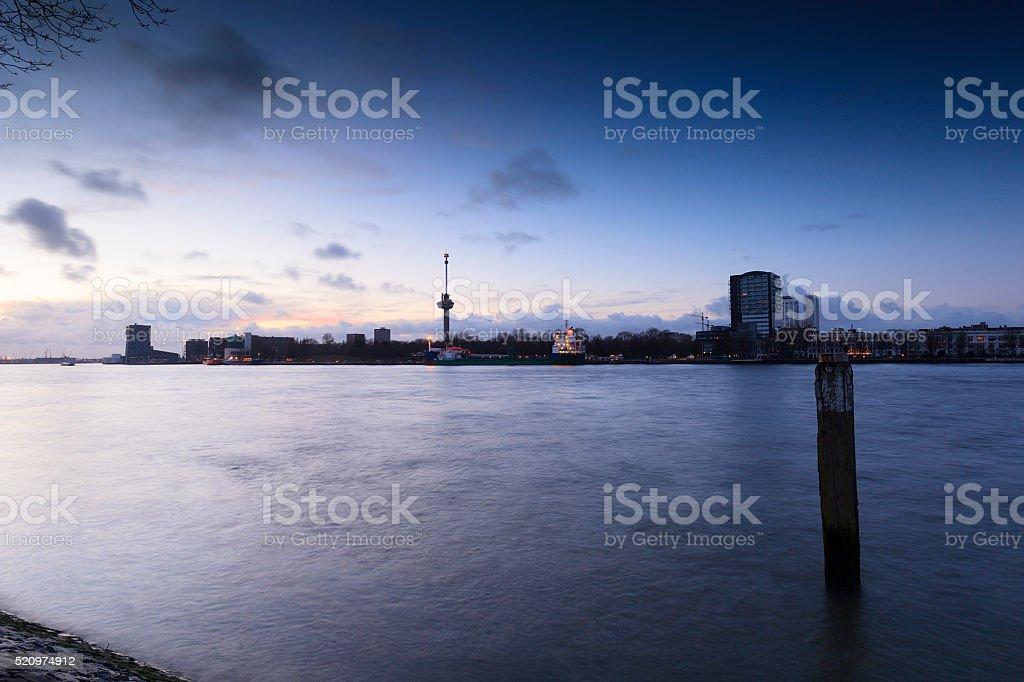 Euromast at Rotterdam stock photo