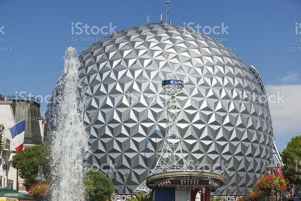 Europa Park royalty-free stock photo