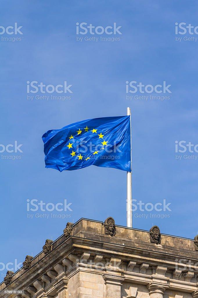Europa-Fahne stock photo