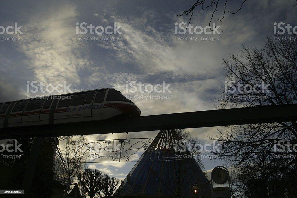 europa-park express royalty-free stock photo