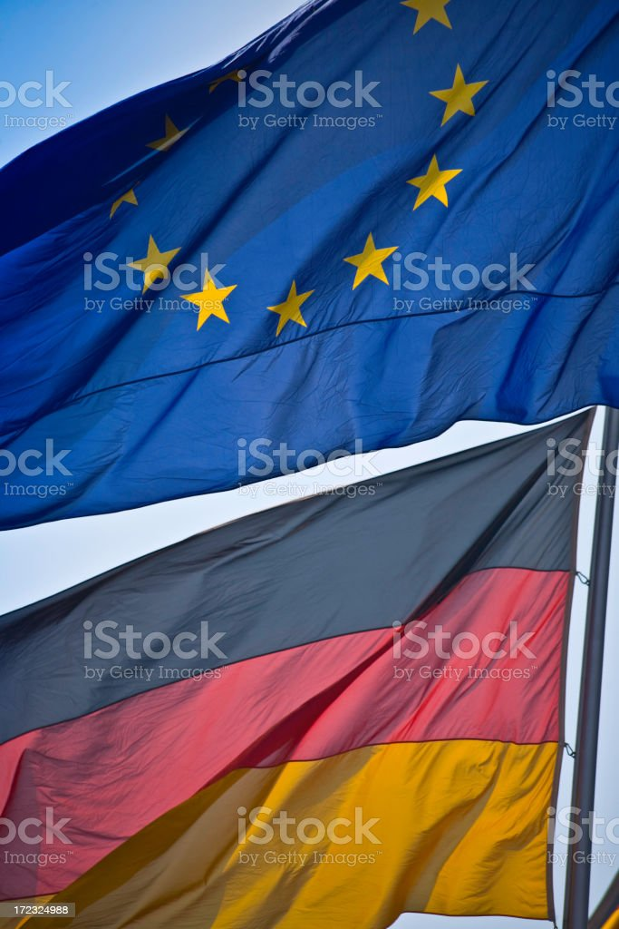 Europe and germany royalty-free stock photo