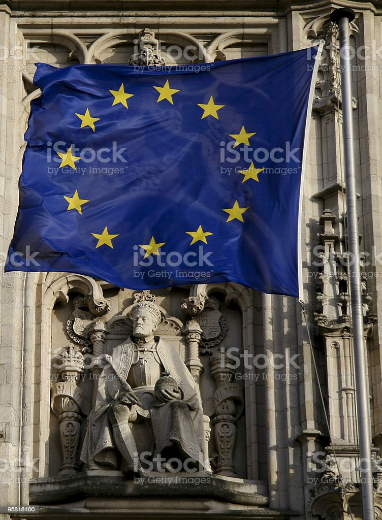 Europe - Charlemagne stock photo