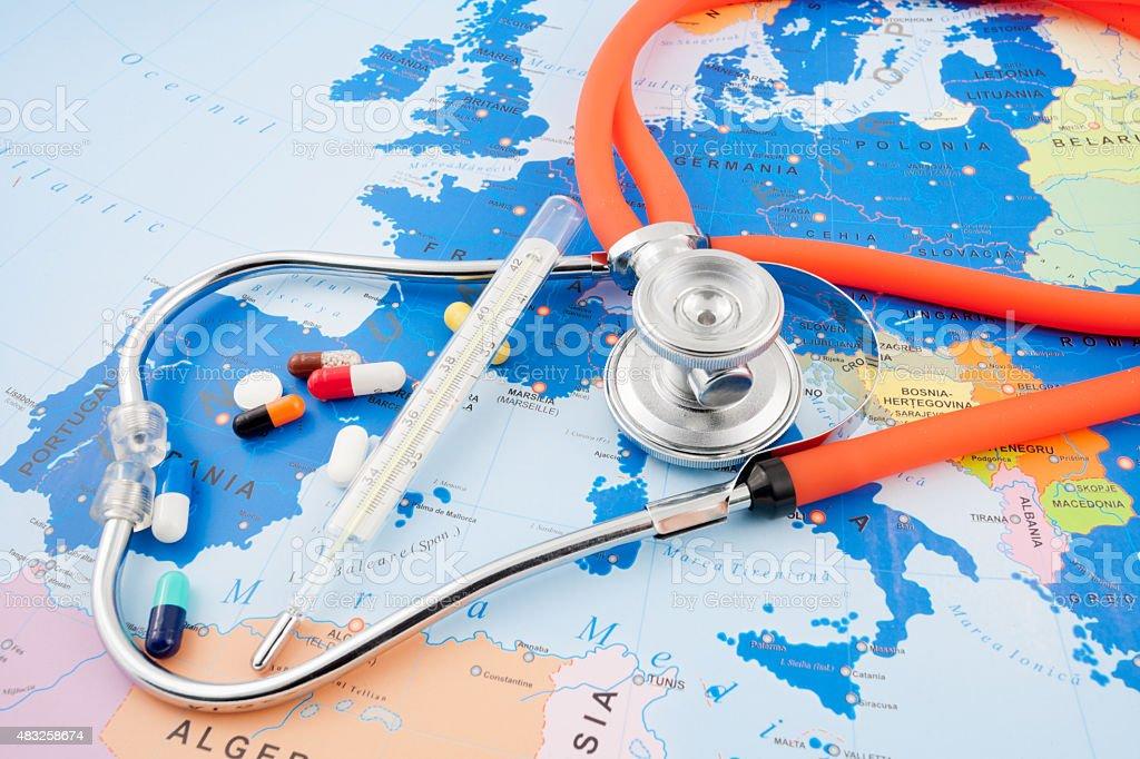 Europe Health stock photo