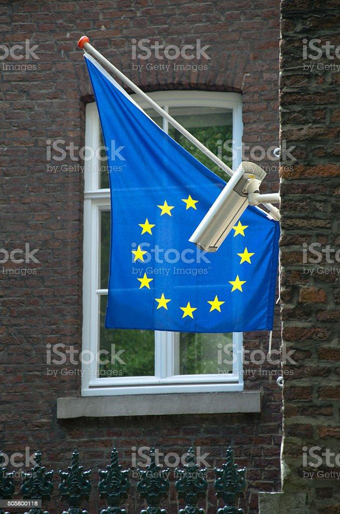 Europa - Überwachungsstaat stock photo