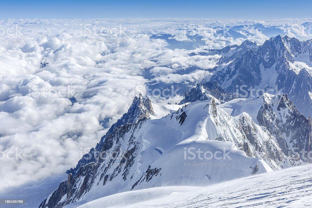 European Alps landscape royalty-free stock photo