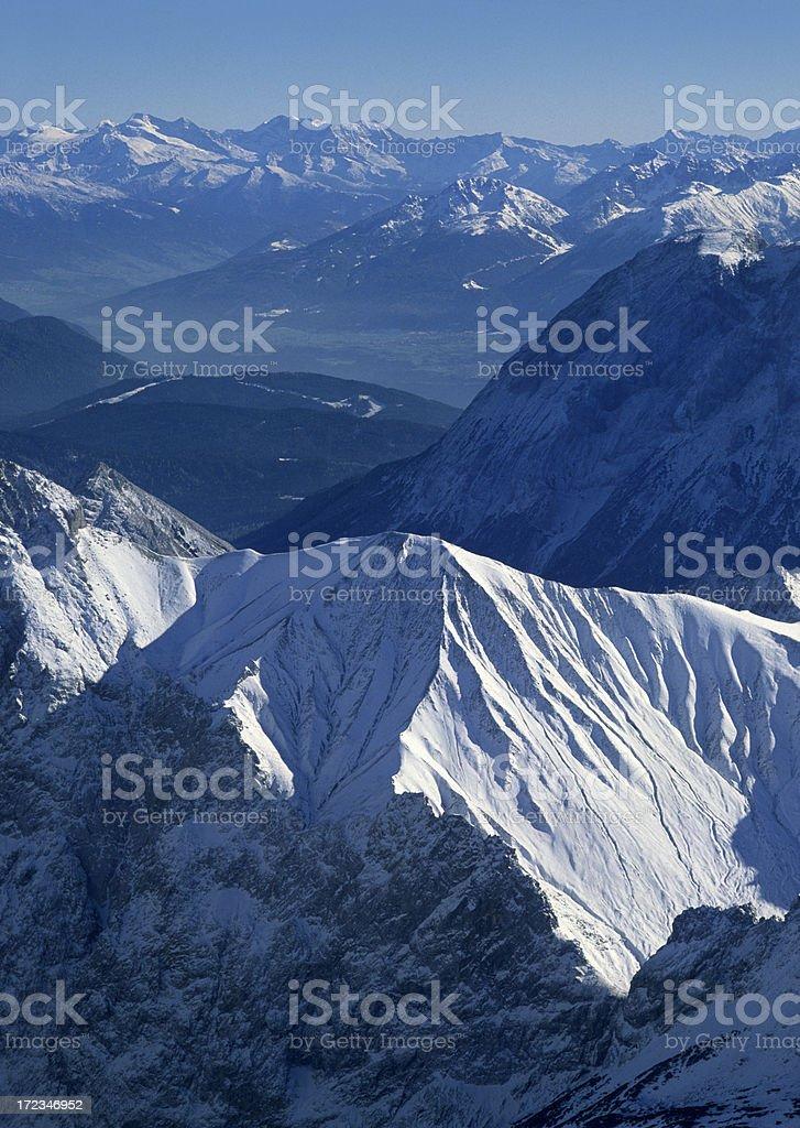 European Alps (image size XXL) royalty-free stock photo