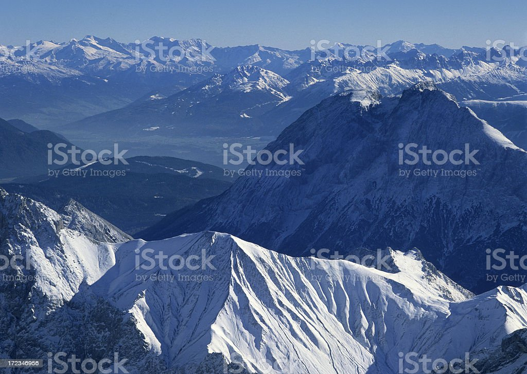 European Alps (image size XXL) royalty-free stock photo