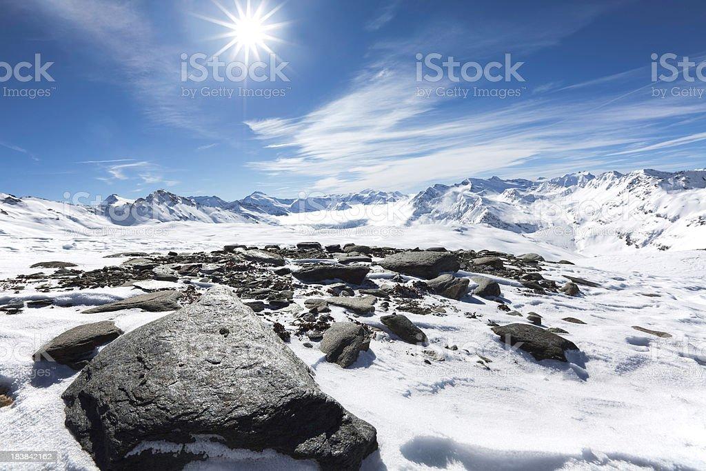 European Alps XXXL royalty-free stock photo