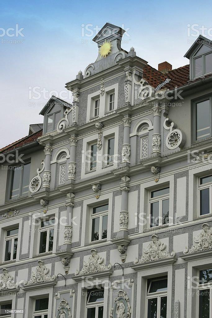 European architecture stock photo
