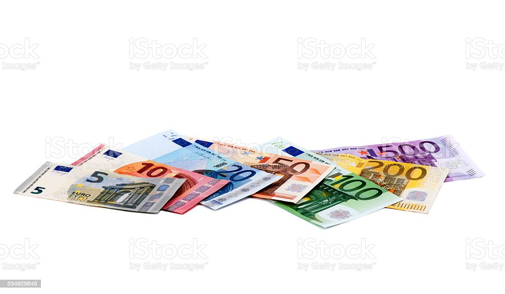 European Banknotes stock photo