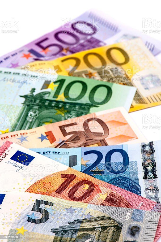 European Banknotes stock photo