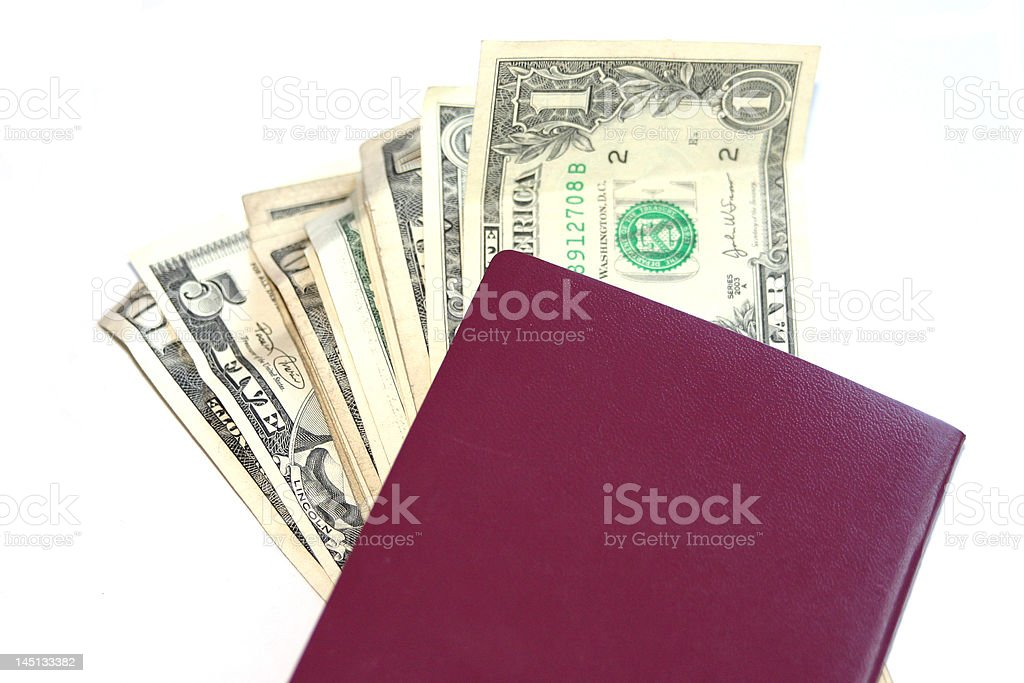European buying in USA royalty-free stock photo