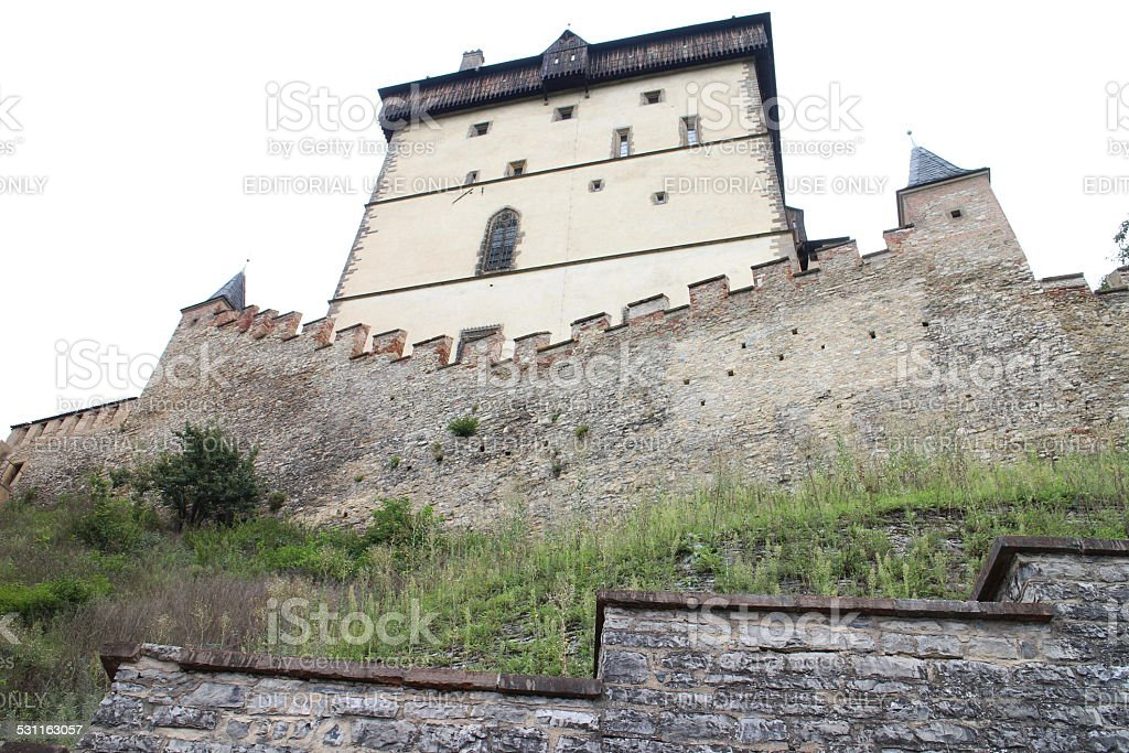 European Castle stock photo