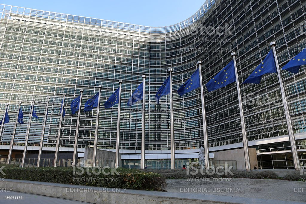 European Commission HQ, Brussels stock photo