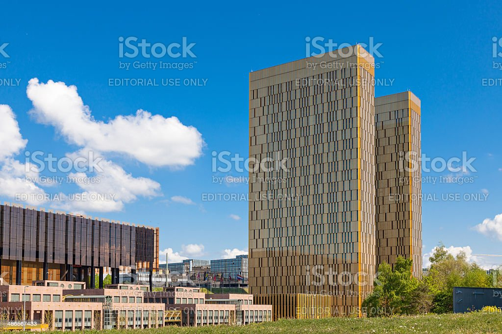 European Court of Justice stock photo