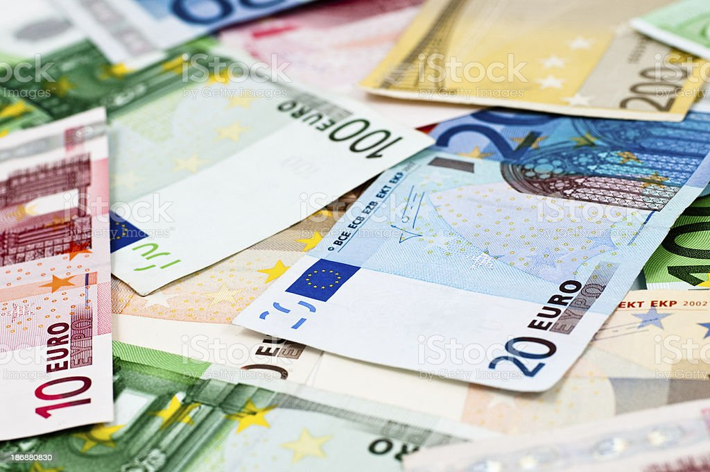 european currency money royalty-free stock photo