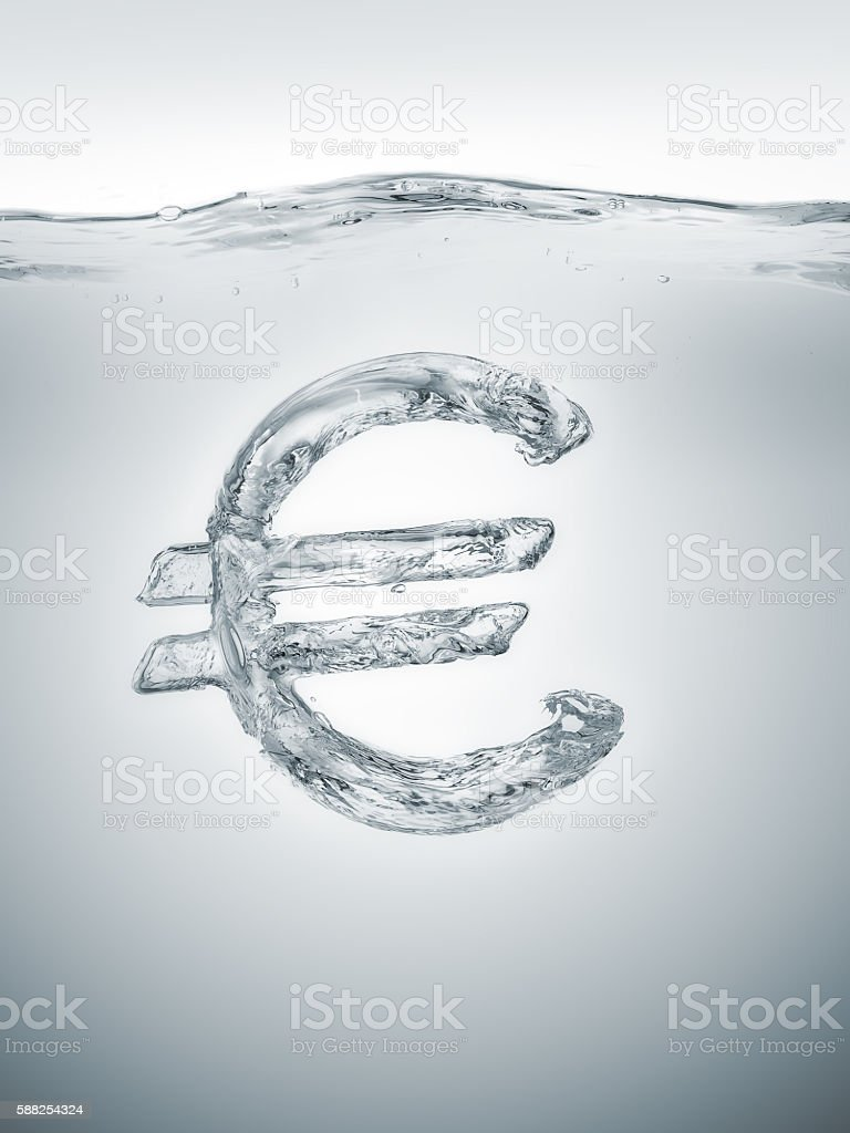 European economic bubble stock photo