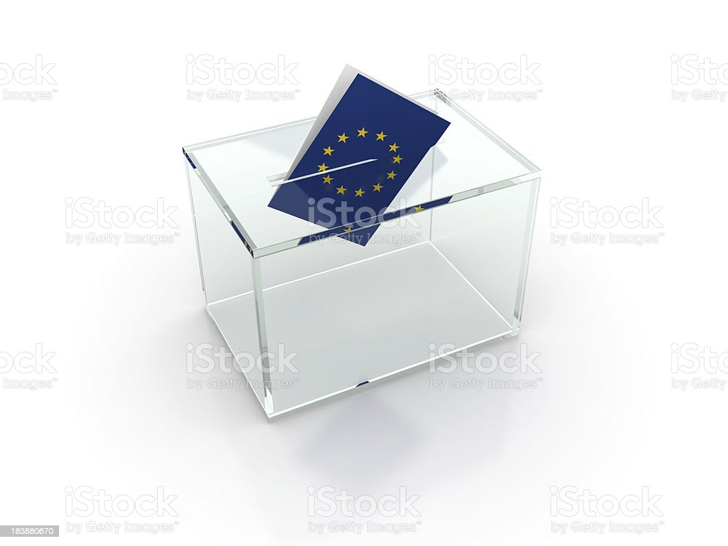 European election royalty-free stock photo