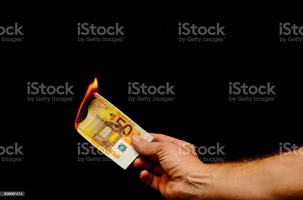 European Euro Money Banknote stock photo
