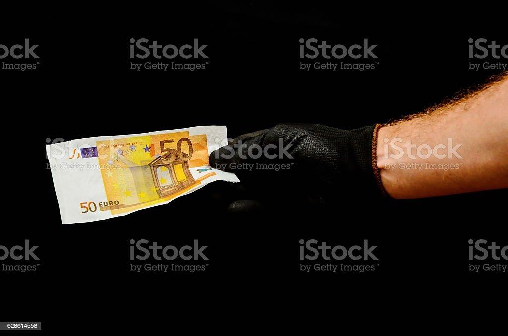 European Euro Money Banknote stock photo
