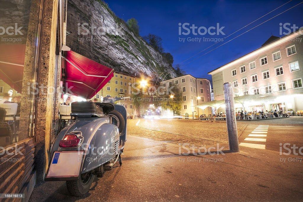 European Evening royalty-free stock photo