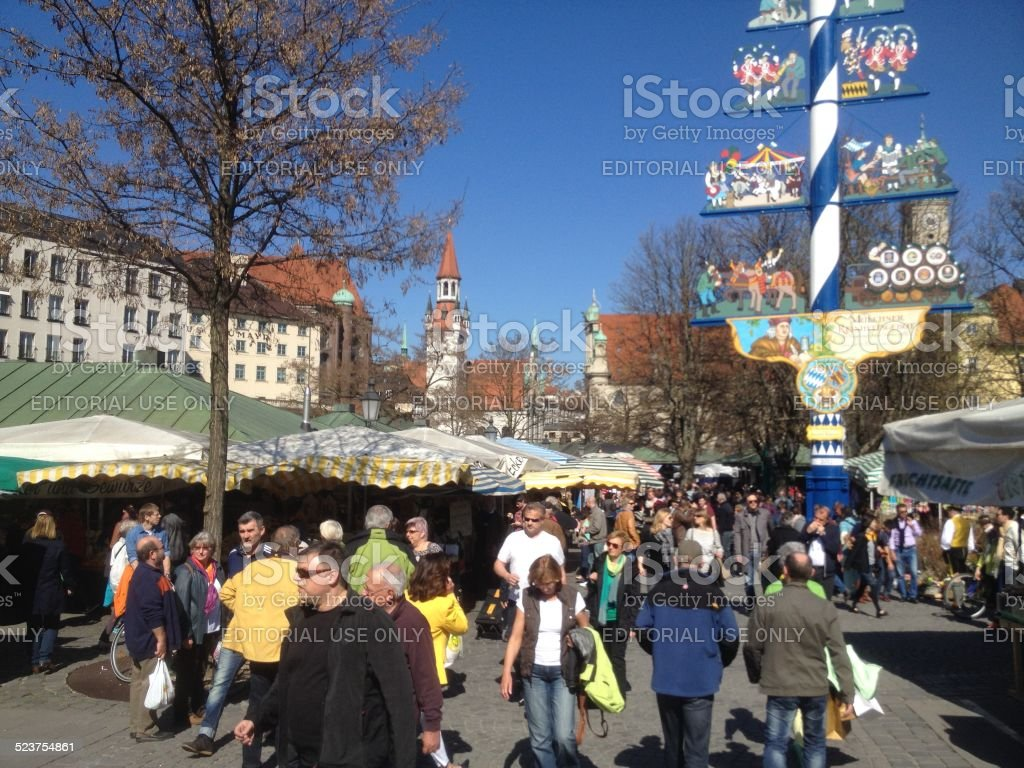 European Farmer Markets stock photo