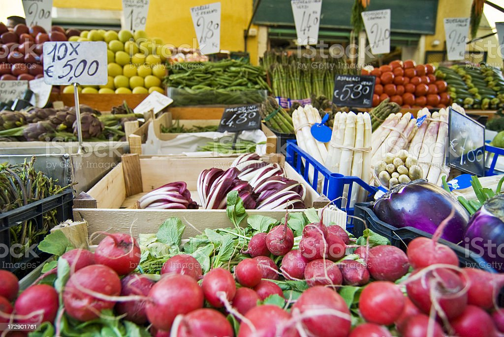 European Farmers' Market royalty-free stock photo