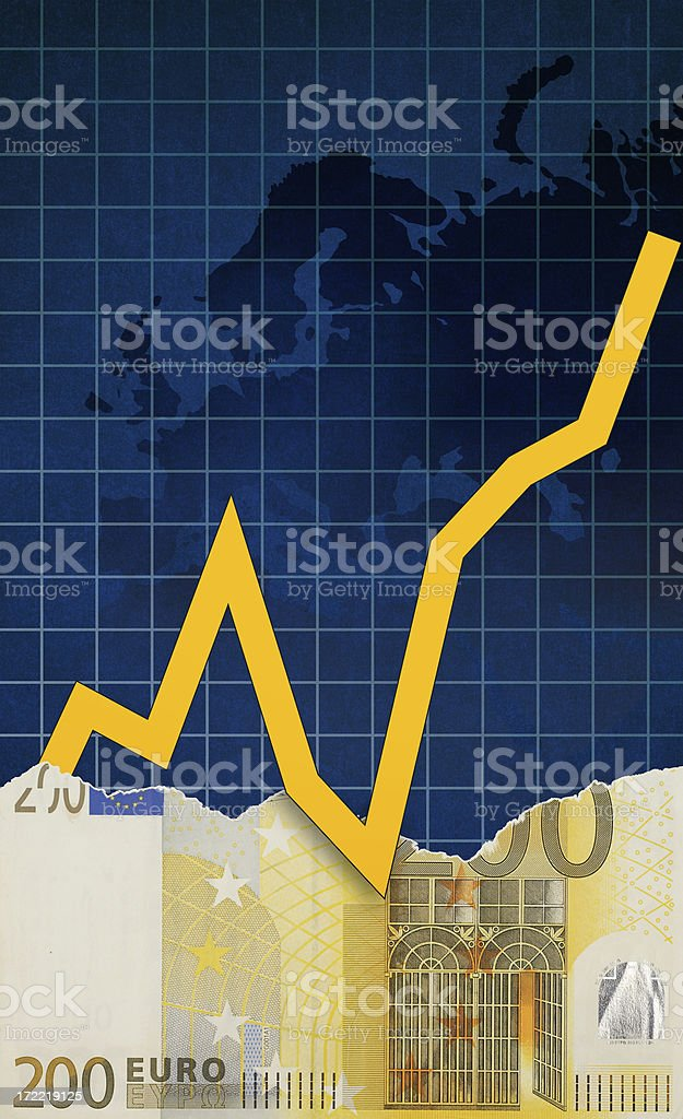European Finance stock photo