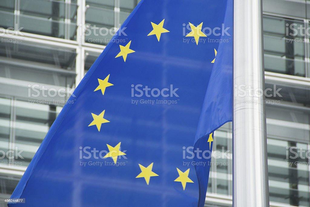 European Flag Detail stock photo