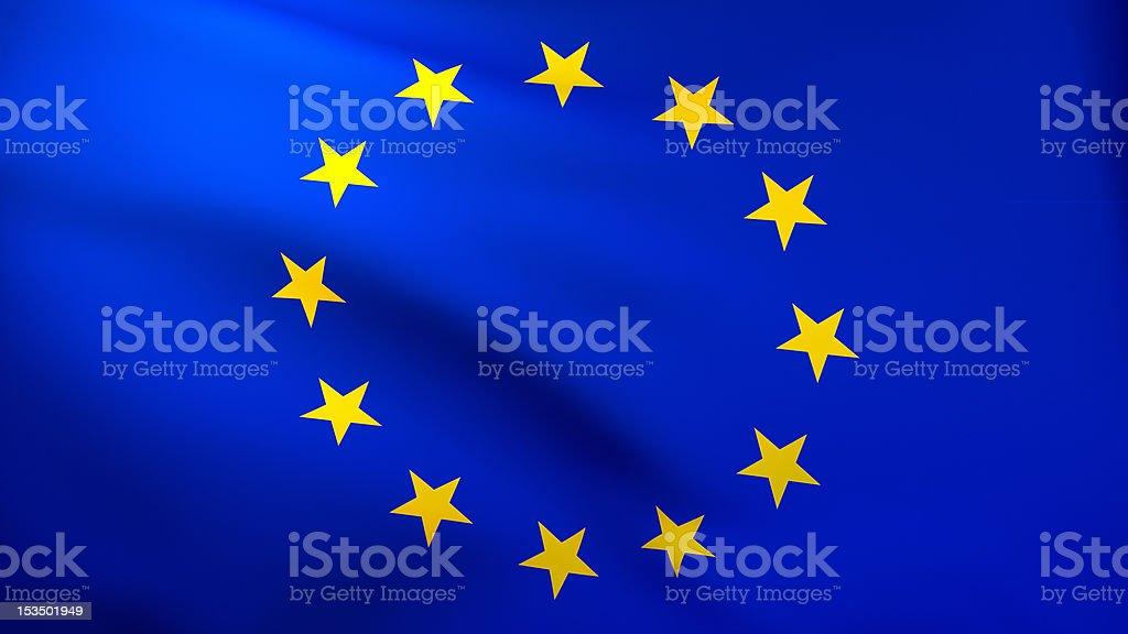 European flag HD stock photo