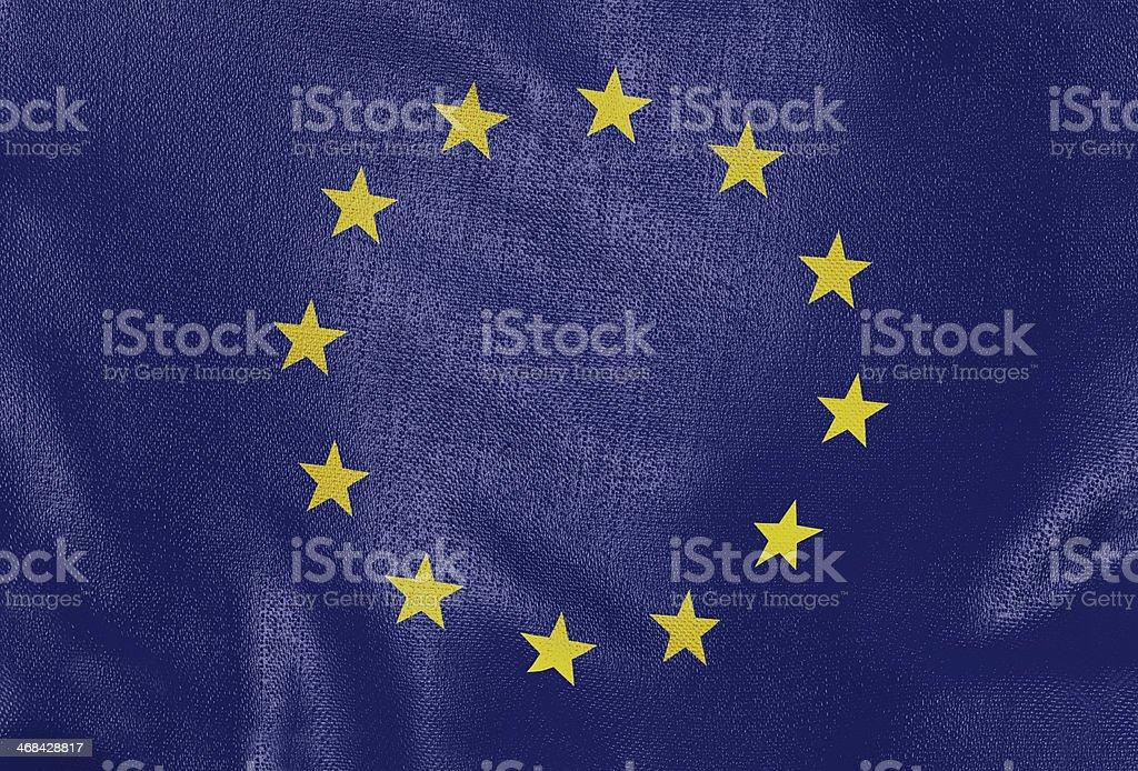 European flag stock photo
