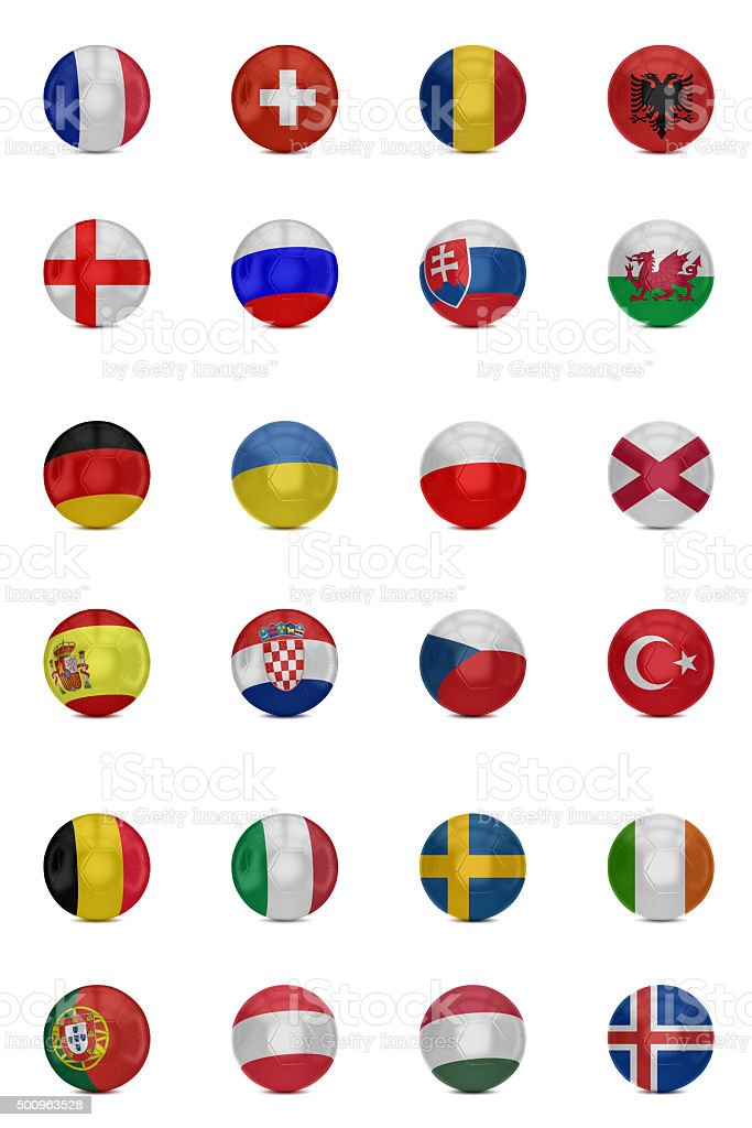 European football cup national football teams stock photo