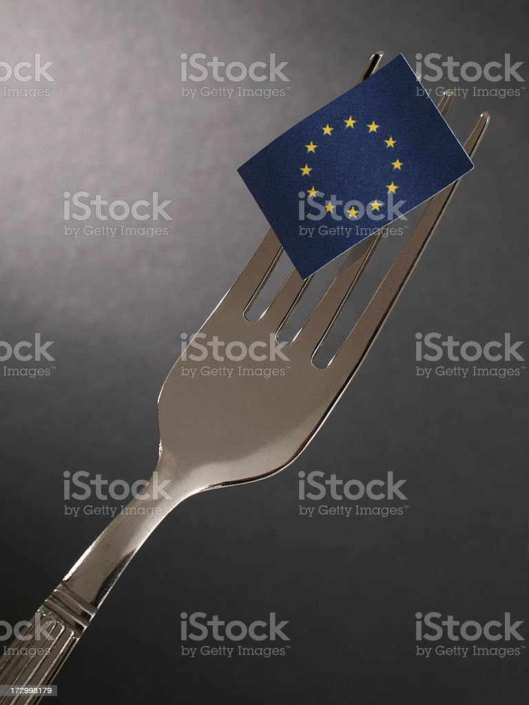 European gourmet royalty-free stock photo