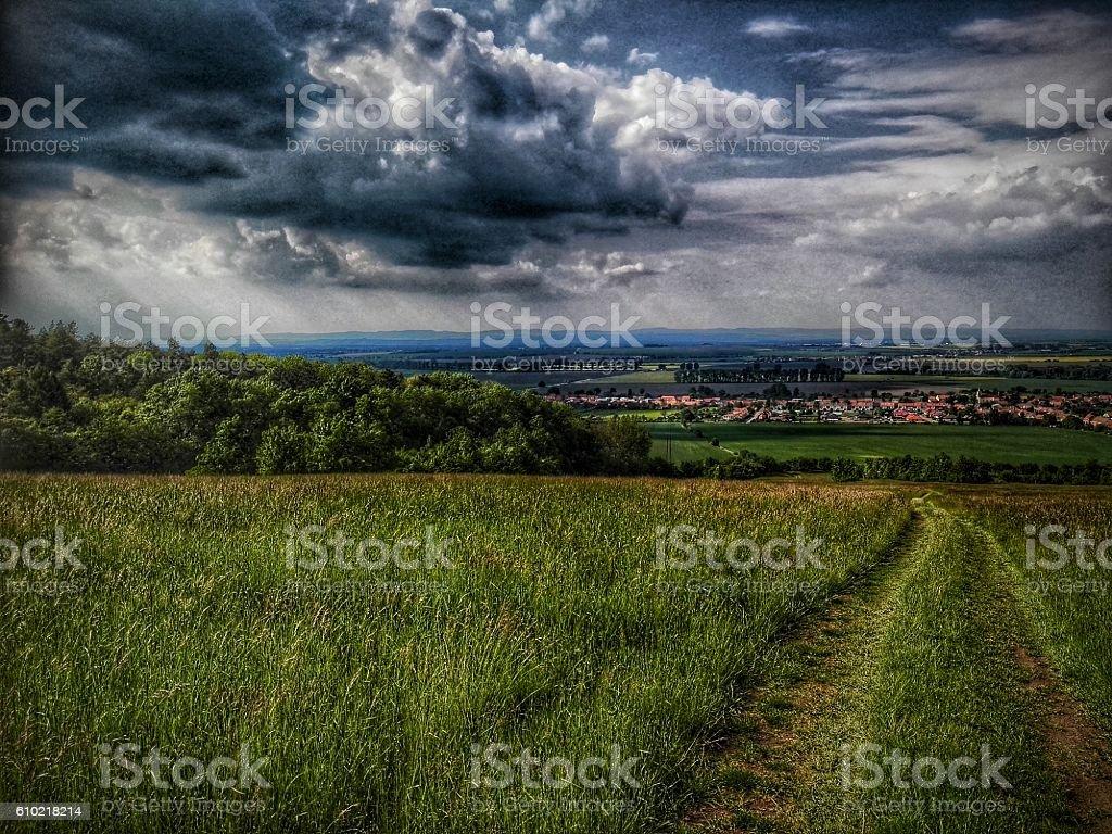 European Landscape stock photo