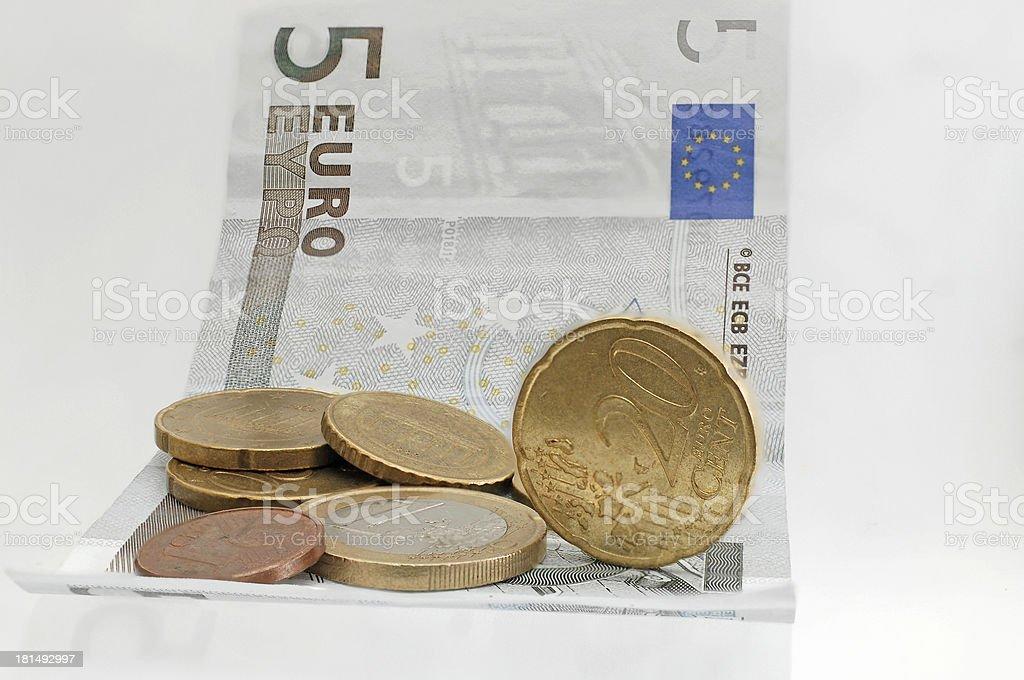 European money royalty-free stock photo