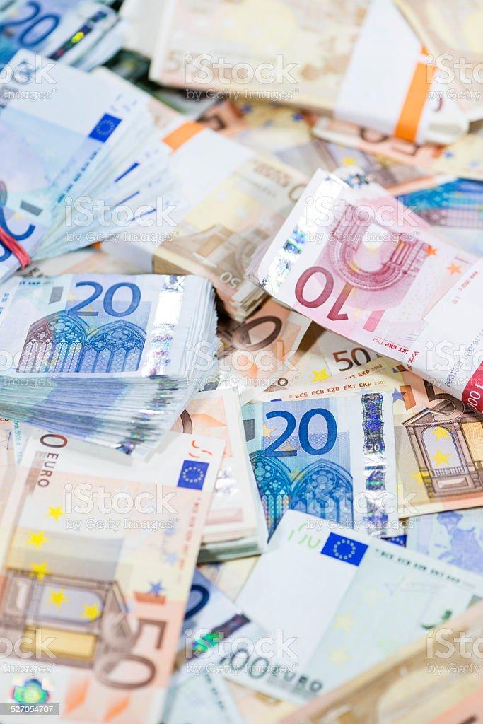 European Money stock photo