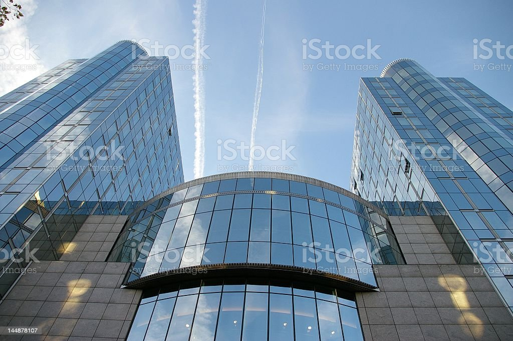 European Parliament royalty-free stock photo