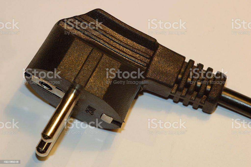 European plug stock photo