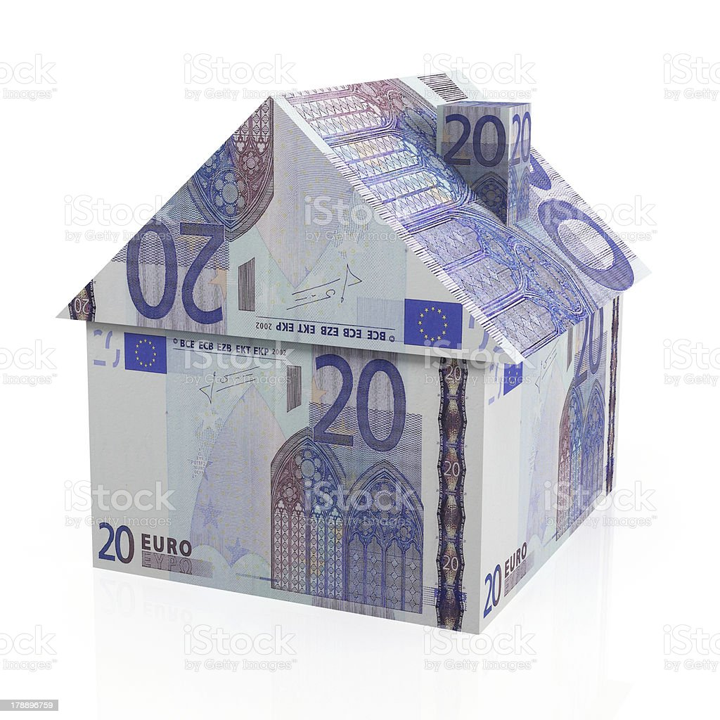 European Real Estate royalty-free stock photo
