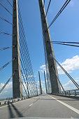 European route E20 and Oresund Bridge, Scandinavia