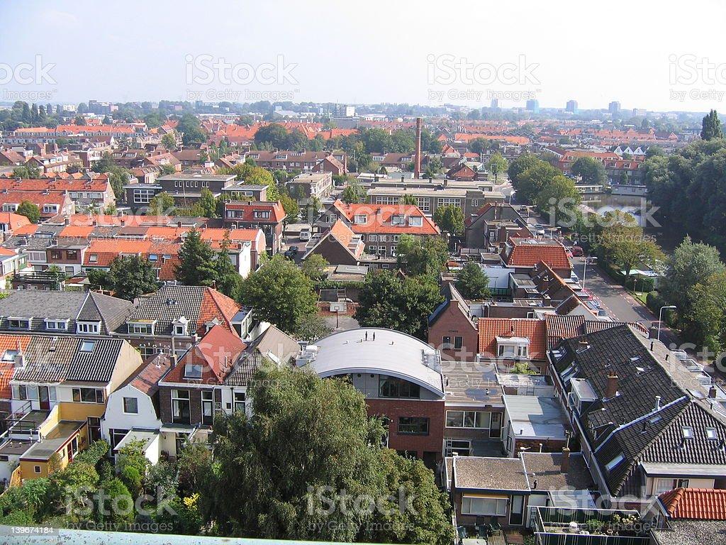 European Town royalty-free stock photo