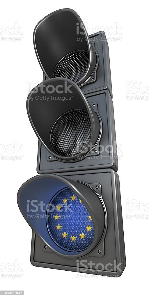 european traffic light royalty-free stock photo