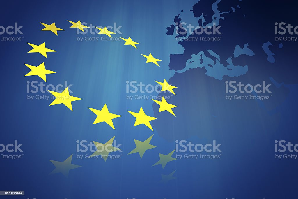 European union concept stock photo
