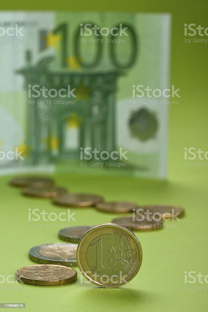 European Union Currency royalty-free stock photo
