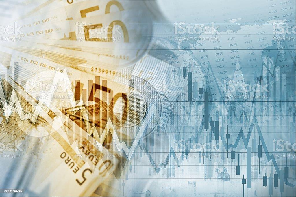 European Union Euro Money stock photo