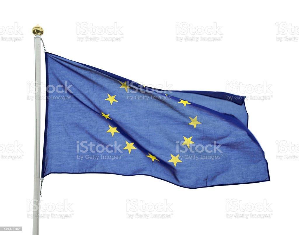 European union flag stock photo