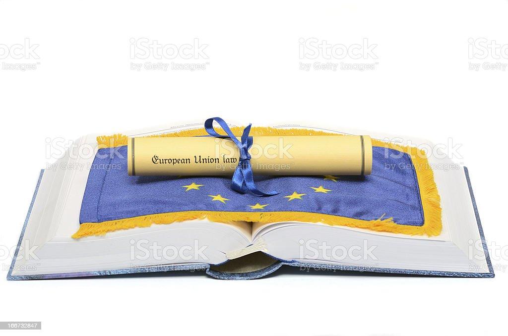 European union Law royalty-free stock photo