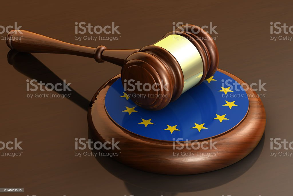European Union Laws Eu Parliament stock photo